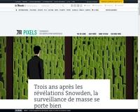 [LeMonde] Trois ans après les révélations Snowden, la surveillance de masse se porte bien
