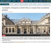 Les Exégètes s'attaquent au fichier TES, en s'armant d'une consultation publique