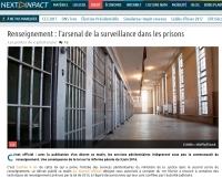 [NextINpact] Renseignement : l'arsenal de la surveillance dans les prisons