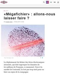 [Liberation] «Mégafichier» : allons-nous laisser faire ?