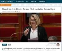 [NextINpact] Disparition de la députée Corinne Erhel, spécialiste du numérique