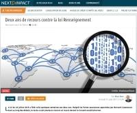 [NextINpact] Deux ans de recours contre la loi Renseignement