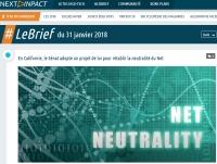 [NextINpact] En Californie, le Sénat adopte un projet de loi pour rétablir la neutralité du Net