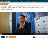 [NextINpact] LPM 2019-2025 : comment l'ANSSI compte détecter les cybermenaces chez les opérateurs
