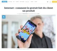 [LeParisien] Internet : comment le gratuit fait du client un produit