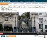 Blocage administratif : bras de fer entre la personnalité qualifiée de la CNIL et l'Intérieur