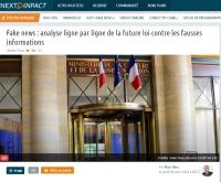 [NextINpact] Fake news : analyse ligne par ligne de la future loi contre les fausses informations
