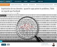 [NextINpact] Exploitation de nos données : quand le sage pointe le problème, l'idiot ne regarde que Facebook
