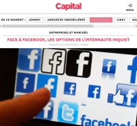[Capital] Face à Facebook, les options de l'internaute inquiet