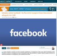 [NextINpact] Schrems contre Facebook : les flux entre Europe et États-Unis encore attaqués à la CJUE