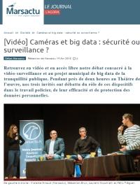 [MarsActu] Caméras et big data : sécurité ou surveillance ?