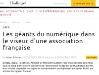 [Challenges] Les géants du numérique dans le viseur d'une association française