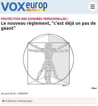 """[VoxEurop] Protection des données personnelles: Le nouveau règlement, """"c'est déjà un pas de géant"""""""