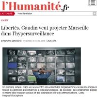 [LHumanite] Libertés. Gaudin veut projeter Marseille dans l'hypersurveillance