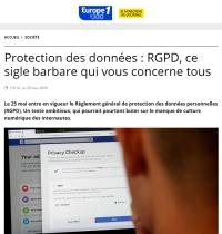 [LeJDD] Protection des données : RGPD, ce sigle barbare qui vous concerne tous