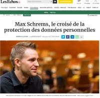 [LesEchos] Max Schrems, le croisé de la protection des données personnelles