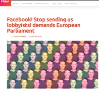 [TheNewtWeb] Facebook! Stop sending us lobbyists! demands European Parliament