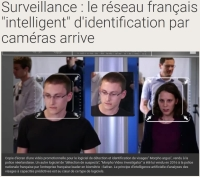 [TV5Monde] Surveillance : le réseau français « intelligent » d'identification par caméras arrive