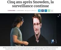[LesEchos] Cinq ans après Snowden, la surveillance continue