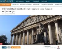 [NextINpact] [Interview] Charte des libertés numériques : le « oui, mais » de Benjamin Bayart