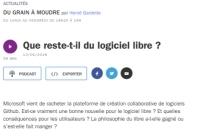[FranceCulture] Que reste-t-il du logiciel libre?