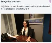 [RadioNotreDame] Nos données personnelles sont-elles vraiment protégées avec le RGPD ?