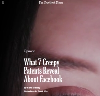 [NYTimes] What 7 Creepy Patents Reveal About Facebook