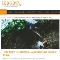 [LeBigData] La CNIL inquiète face à l'essor de la vidéosurveillance couplée au Big Data