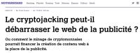 [MotherBoard] Le cryptojacking peut-il débarrasser le web de la publicité?