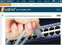 [NextINpact] Le point d'échange DE-CIX combat l'aspiration du trafic par les renseignements allemands