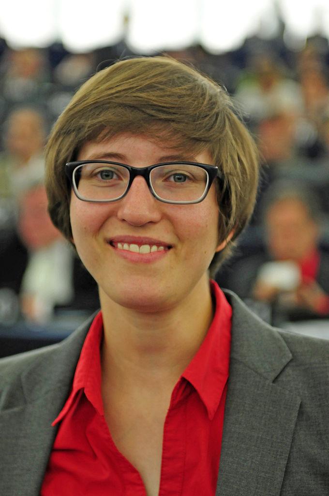 L'eurodéputée Julia Reda