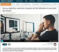 [NextINpact] Face au régulateur américain, les géants du Net défendent la neutralité des réseaux