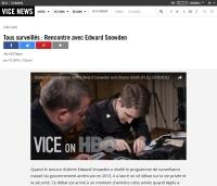 [ViceNews] Tous surveillés : Rencontre avec Edward Snowden