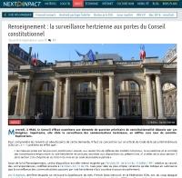 [NextINpact] Renseignement : la surveillance hertzienne aux portes du Conseil constitutionnel