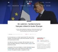 [Rue89] En catimini, l'antiterrorisme français s'étend à toute l'Europe