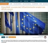 Privacy Shield : un an plus tard, l'efficacité du bouclier européen reste difficile à mesurer