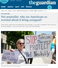 [TheGuardian] Net neutrality: why are Americans so worried about it being scrapped?