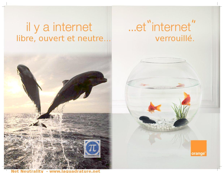 L'internet Neutre...expliqué avec des poissons.