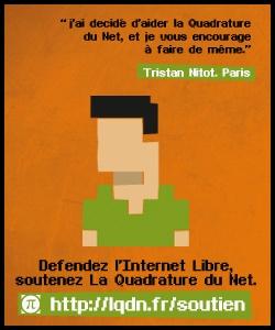Comme Tristan, je soutiens La Quadrature du Net. Et vous ?