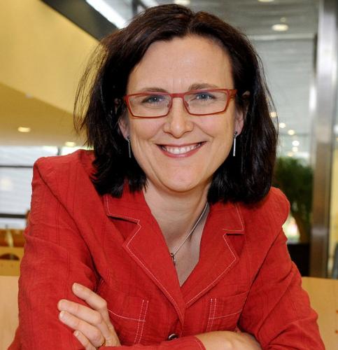 Malmström, Commissioner for Trade