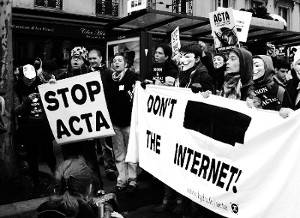 Manifestation anti-ACTA
