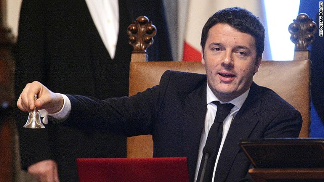 Matteo Renzi, President of the C Council of the European Union